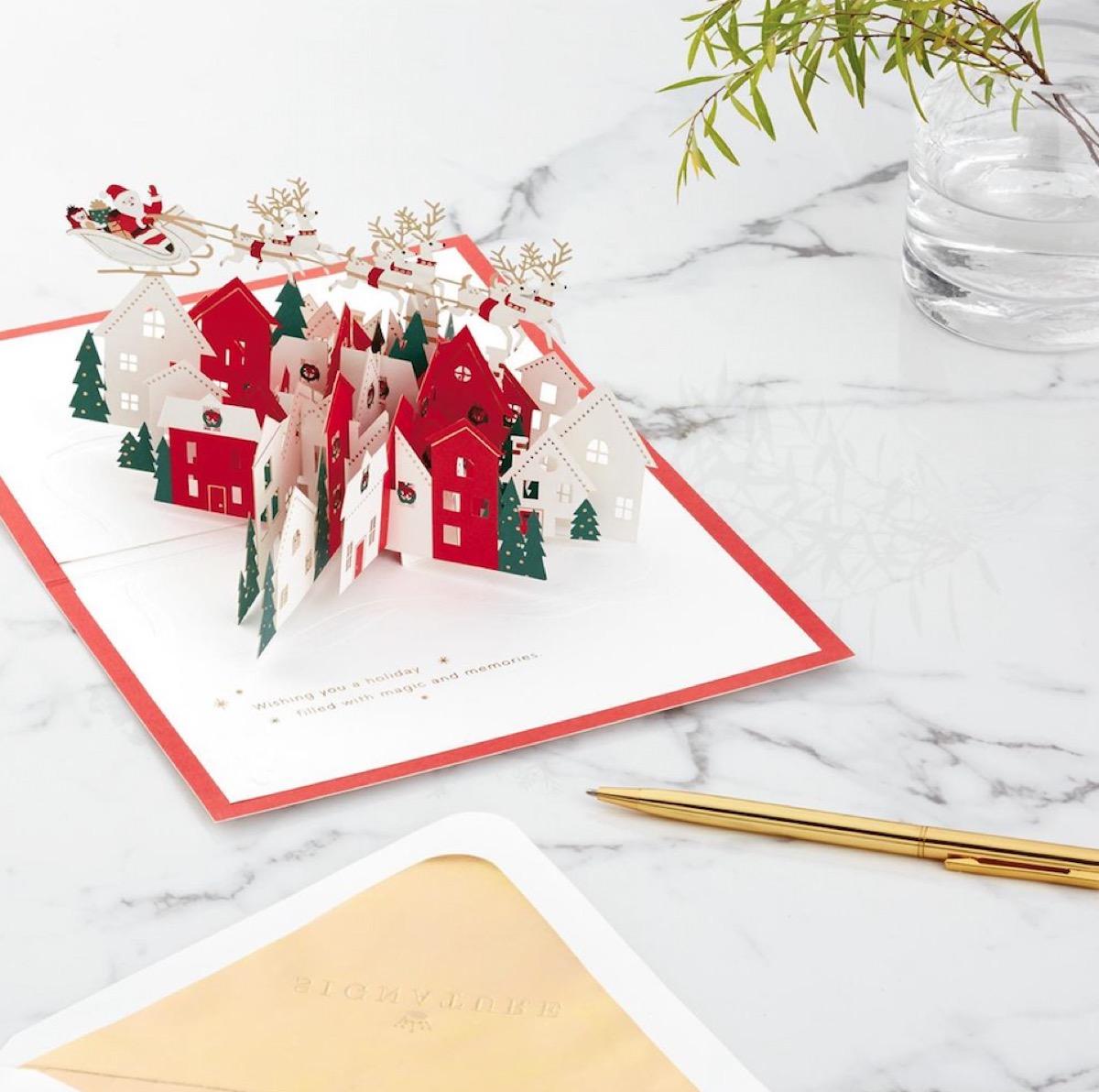 Hallmark Pop Up Christmas Card buy after holidays