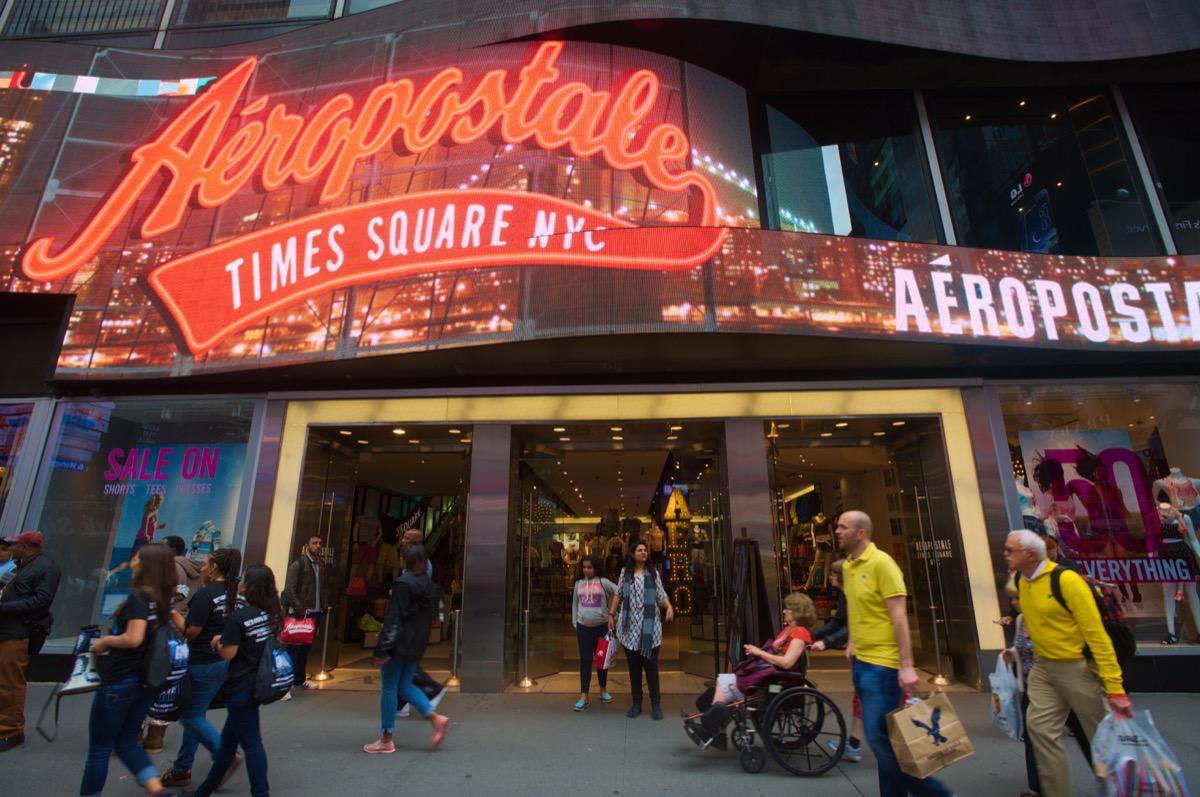 aeropostale store in times square