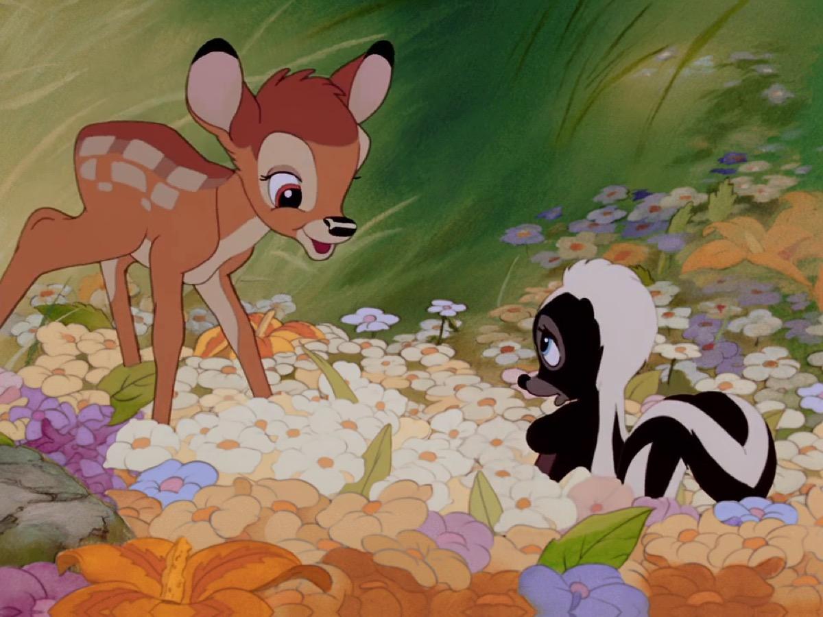 bambi movie still from disney
