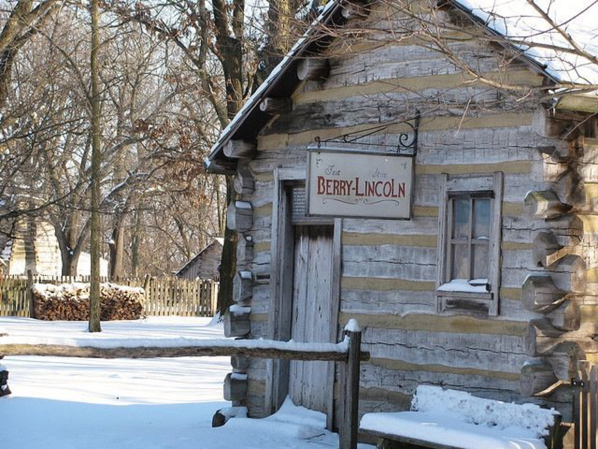 Berry and Lincoln Saloon historical facts