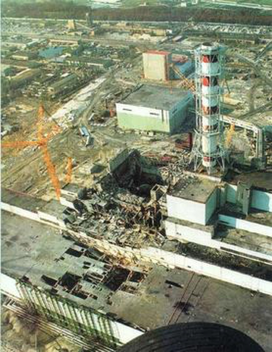 Chernobyl disaster historical facts