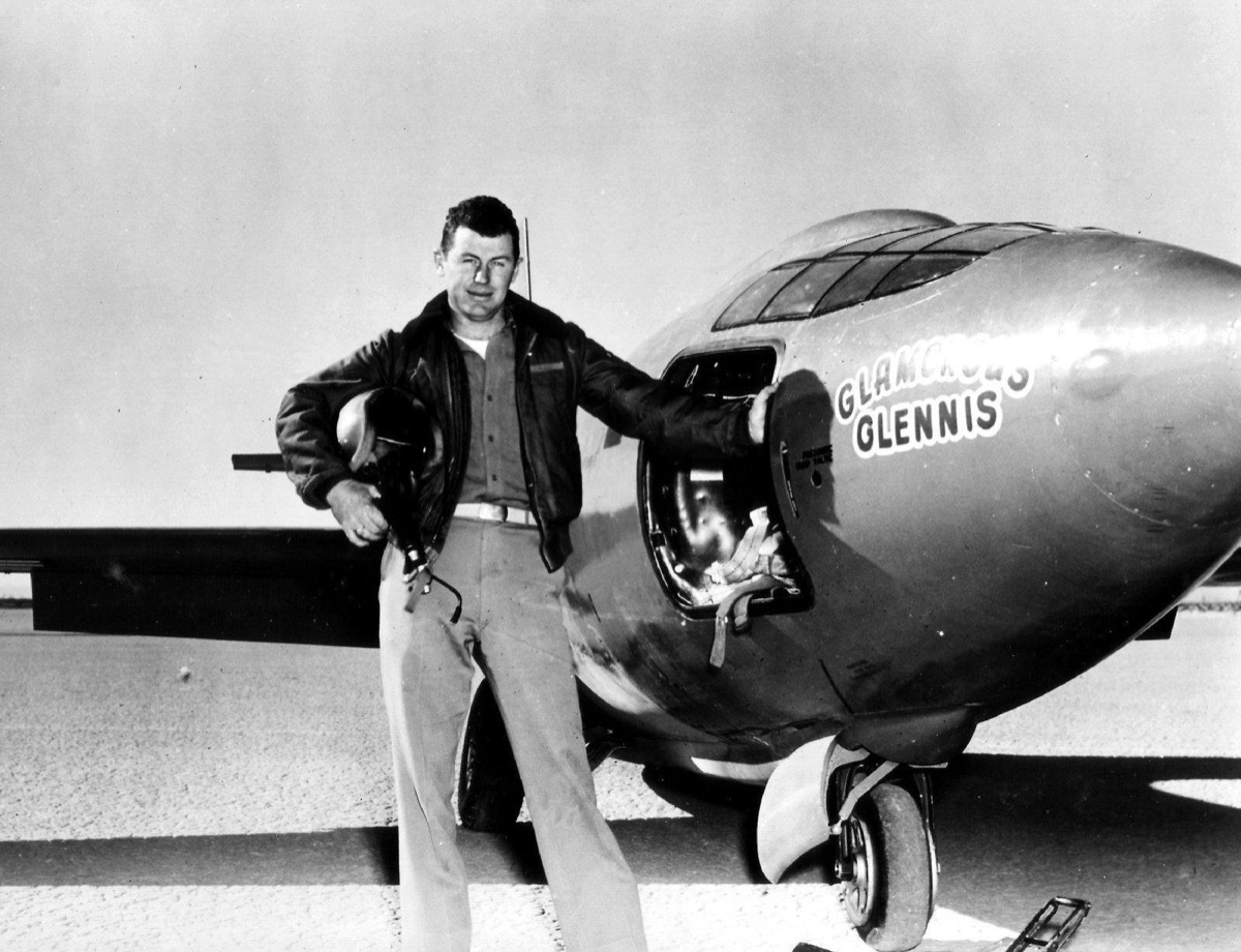chuck yeager in 1947