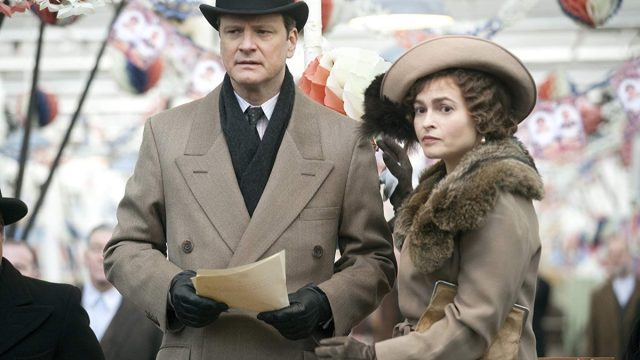 colin firth and helena bonham carter in the kings speech