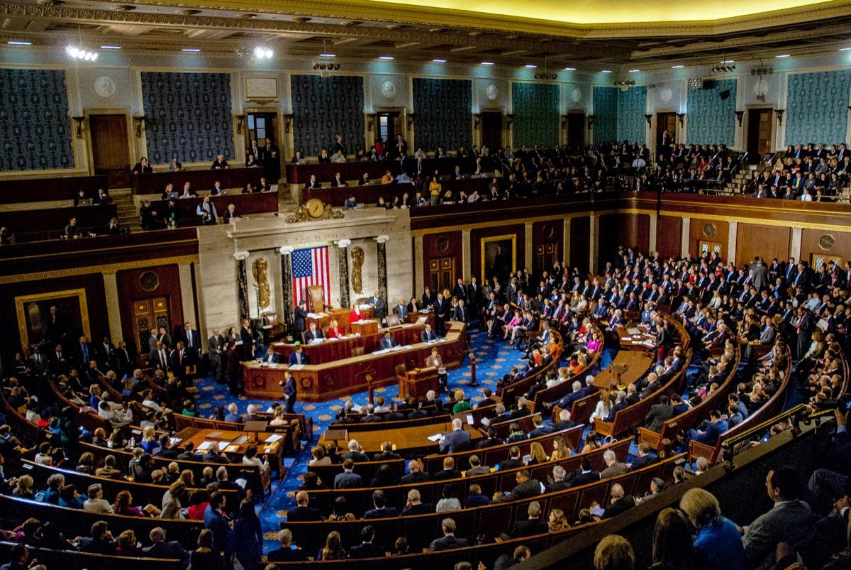 Members of Congress on the Floor {Best of 2018}