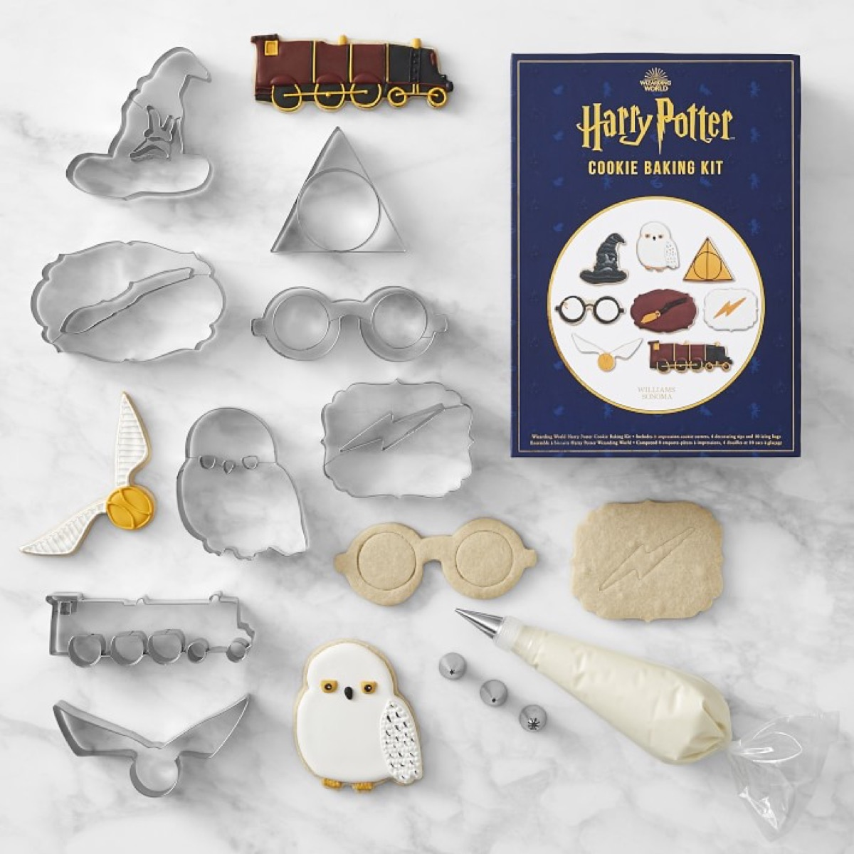 Harry Potter Cookie Cutters {Gifts for Harry Potter Fans}
