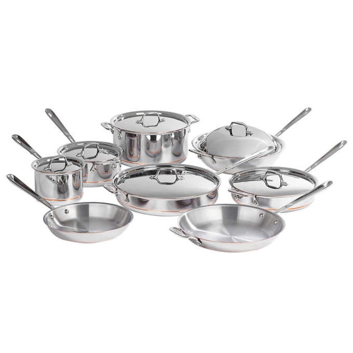 Copper Cookware Set {Costco Deals}