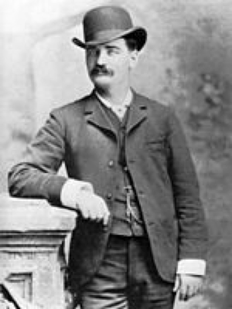 Cowboy wearing bowler hat historical facts