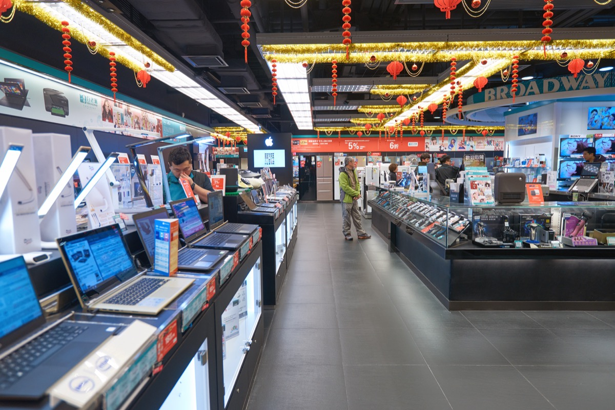 large electronics store Retail Store Layouts Designed to Trick You