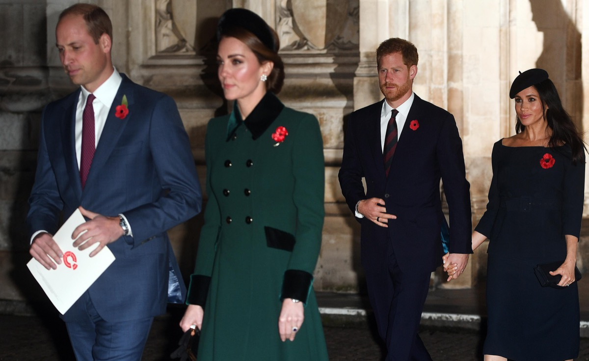 Harry Meghan William Kate the Fab Four Royals