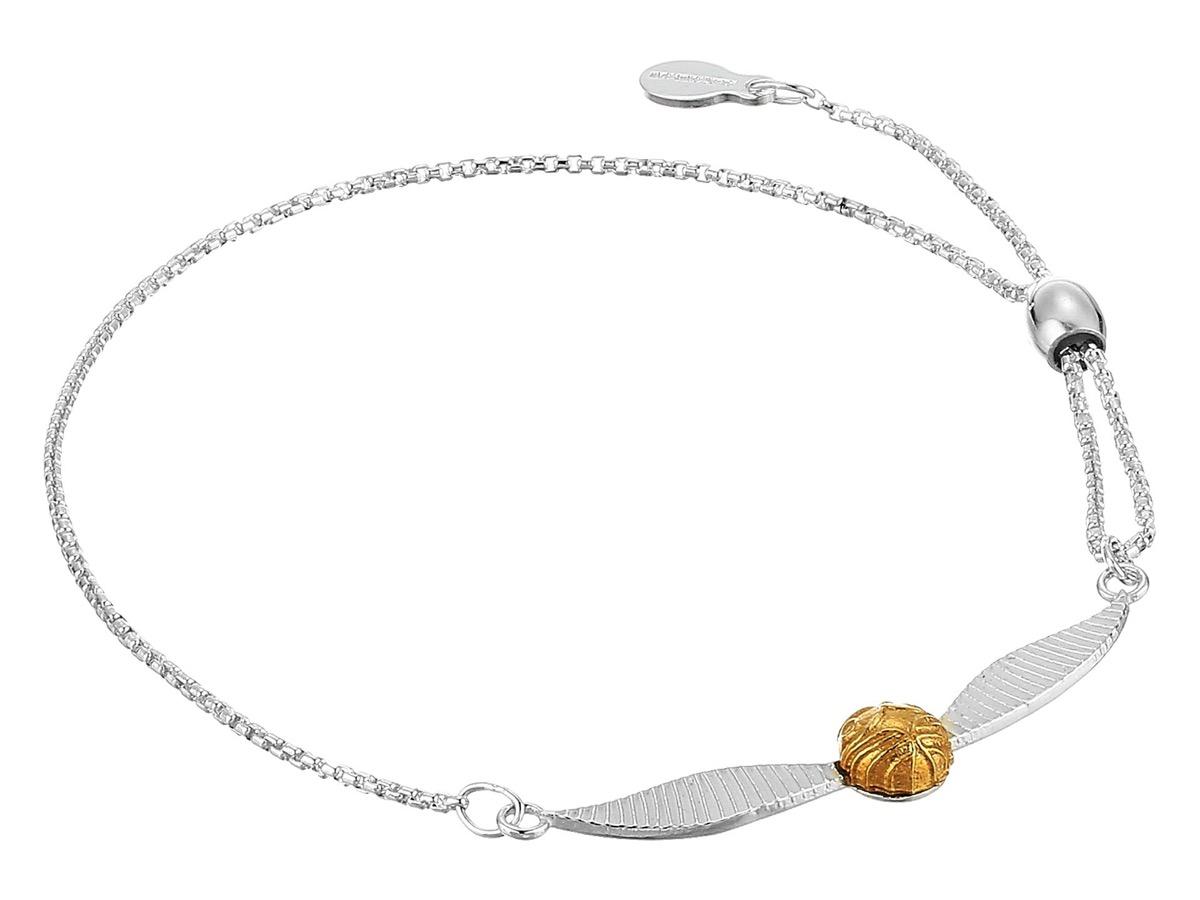 Golden Snitch Pull Bracelet {Gifts for Harry Potter Fans}