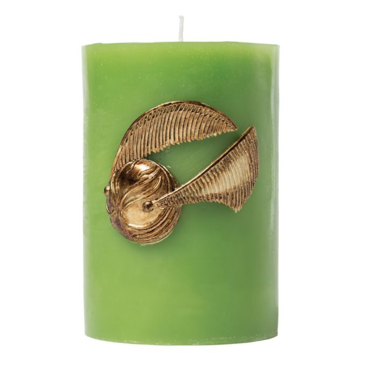 Golden Snitch Candle {Gifts for Harry Potter Fans}