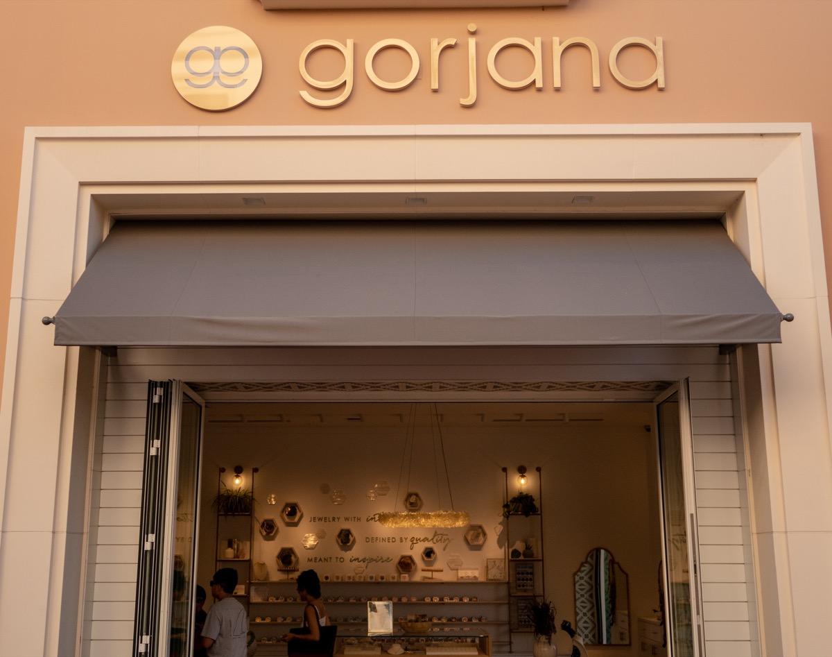 gorjana store location