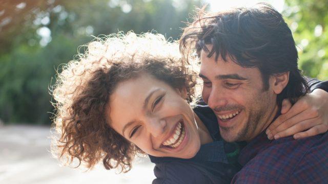 Happy couple, school nurse secrets