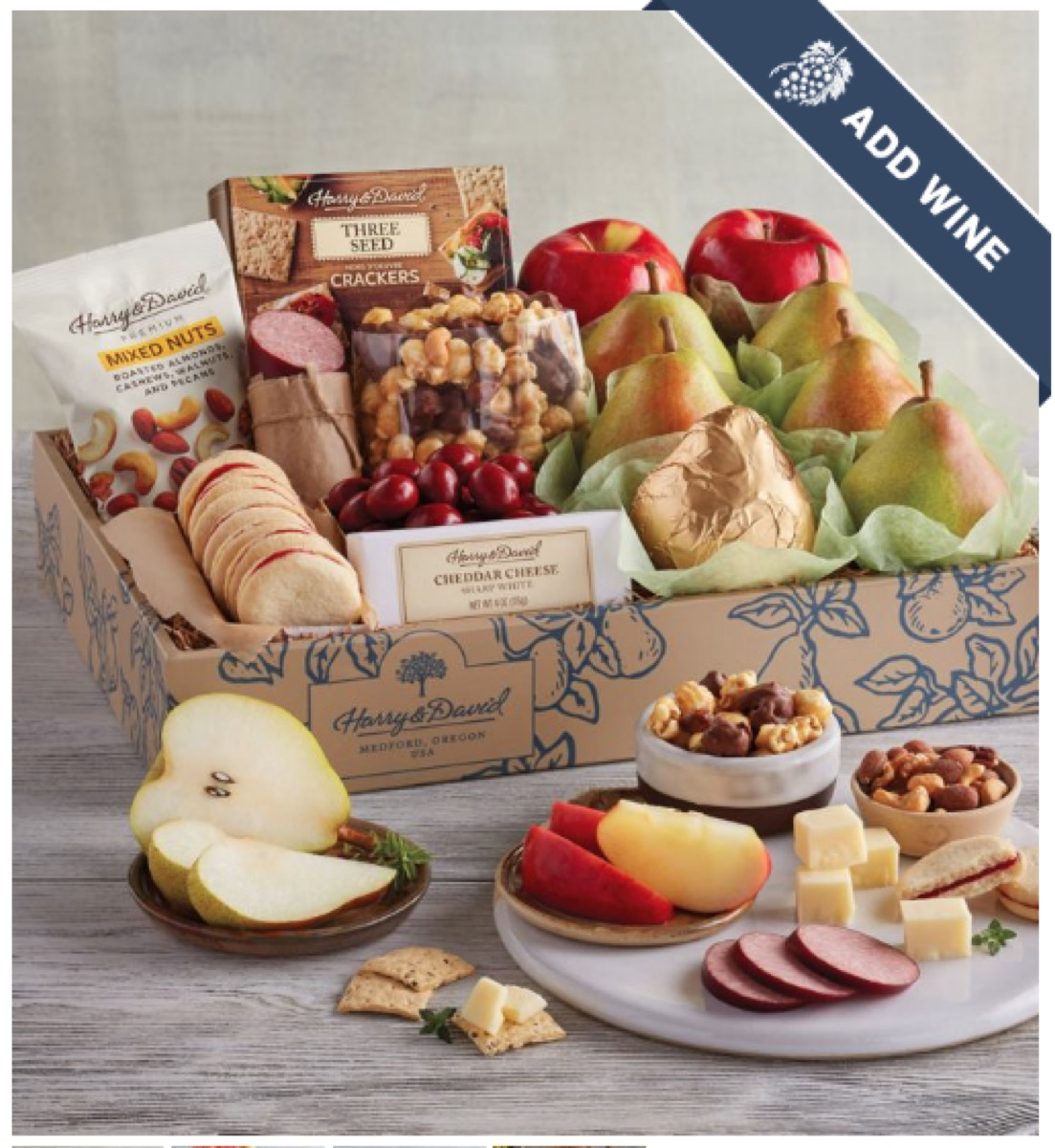 Harry and David Food Gift Box buy after holidays