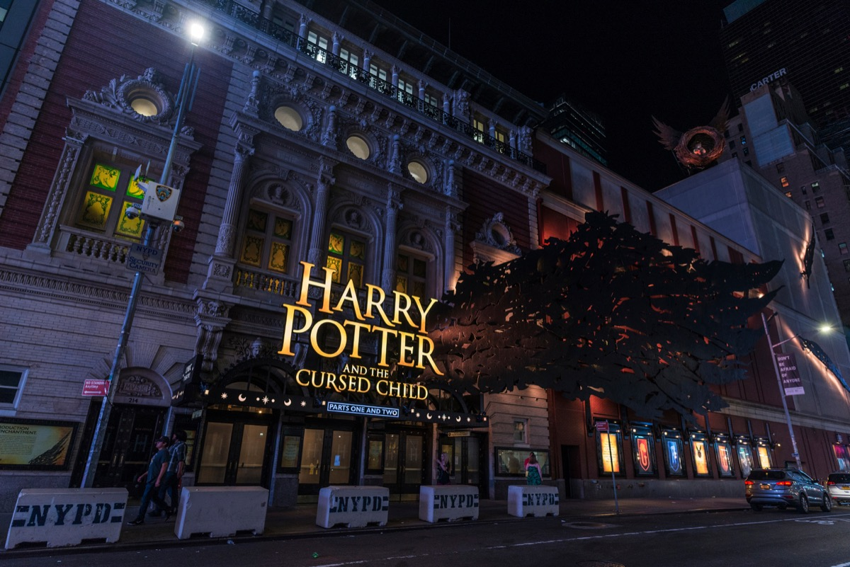 Harry Potter and the Cursed Child Broadway {Best of 2018}