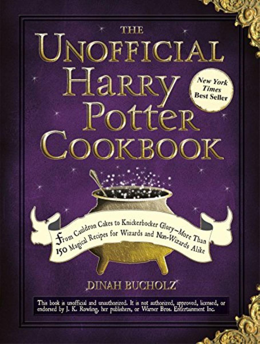 Harry Potter Cookbook {Gifts for Harry Potter Fans}