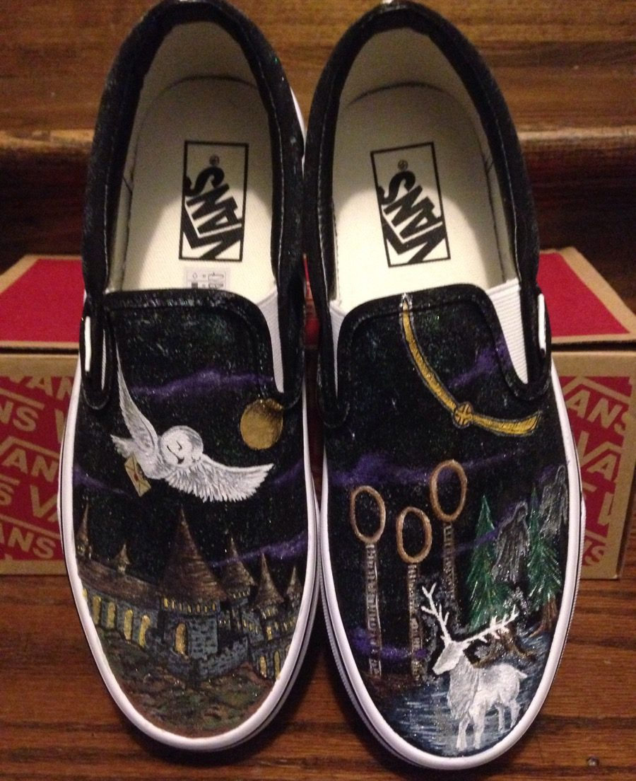 Custom Harry Potter Sneakers {Gifts for Harry Potter Fans}