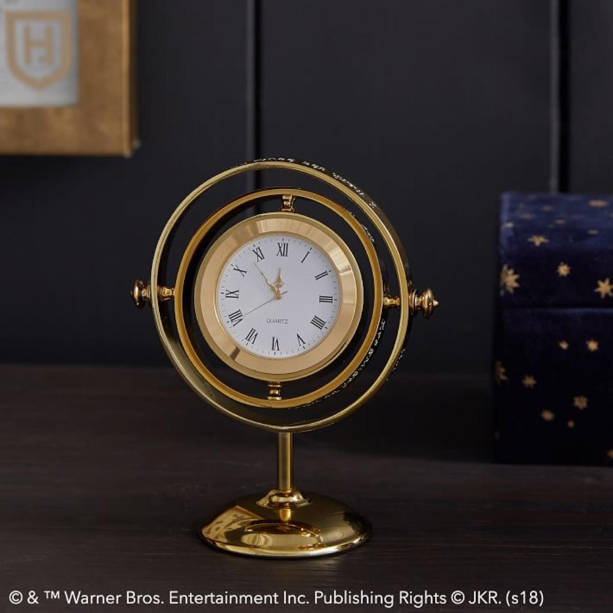 Harry Potter Time Turner Clock {Gifts for Harry Potter Fans}