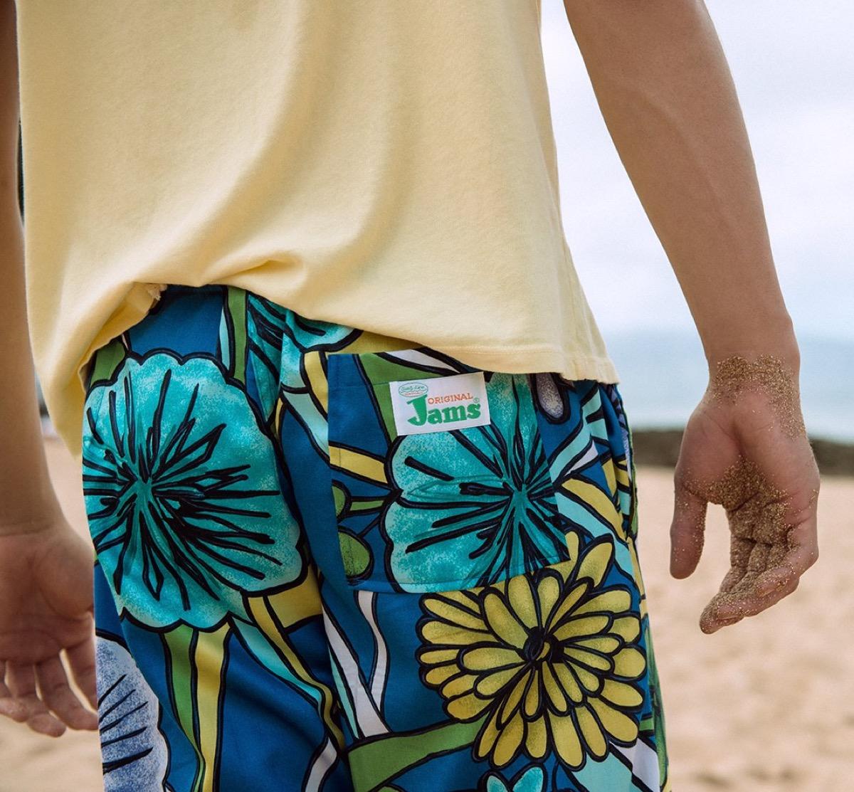 jams shorts'80s fashion
