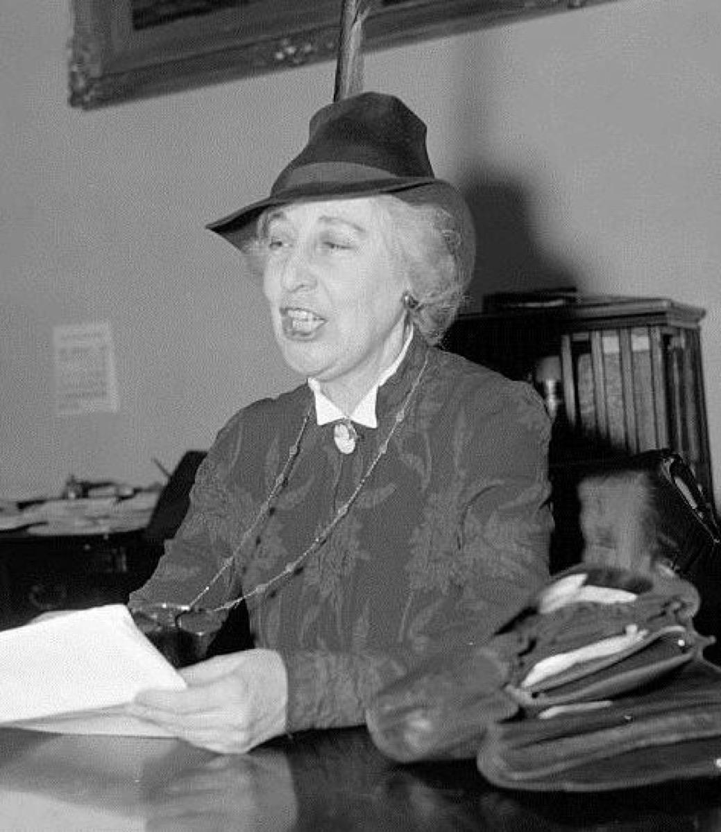 Jeannette Rankin historical facts