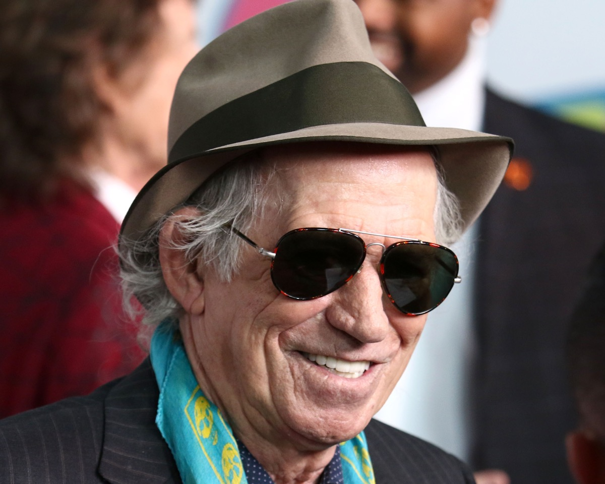 Keith Richards Rolling Stones {Best of 2018}