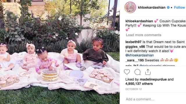 kardashian cupcake party