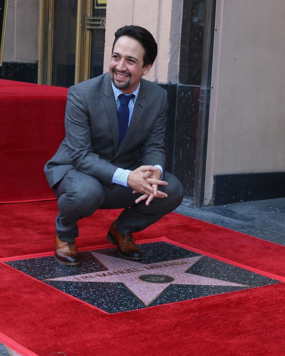 Lin-Manuel Miranda Star on Walk of Fame {Best of 2018}