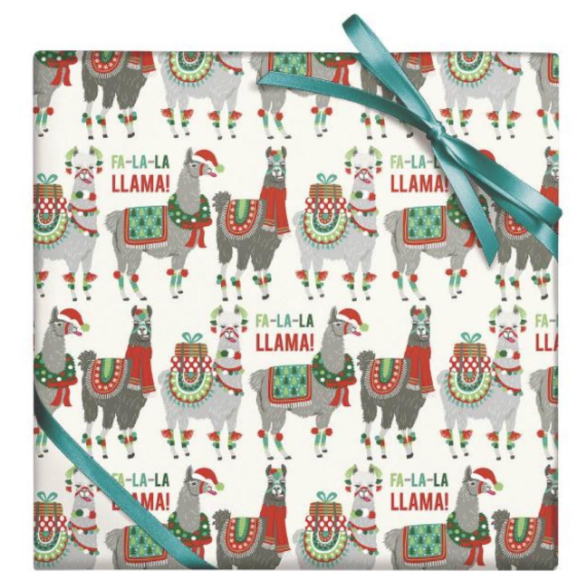 Holiday Llamas paper source buy after holidays