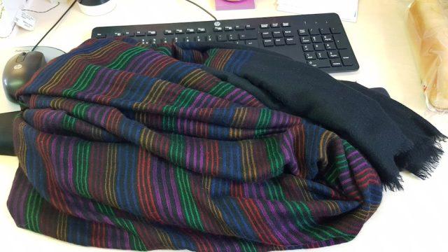 kirstie allsopp lost her scarf, twitter got it back