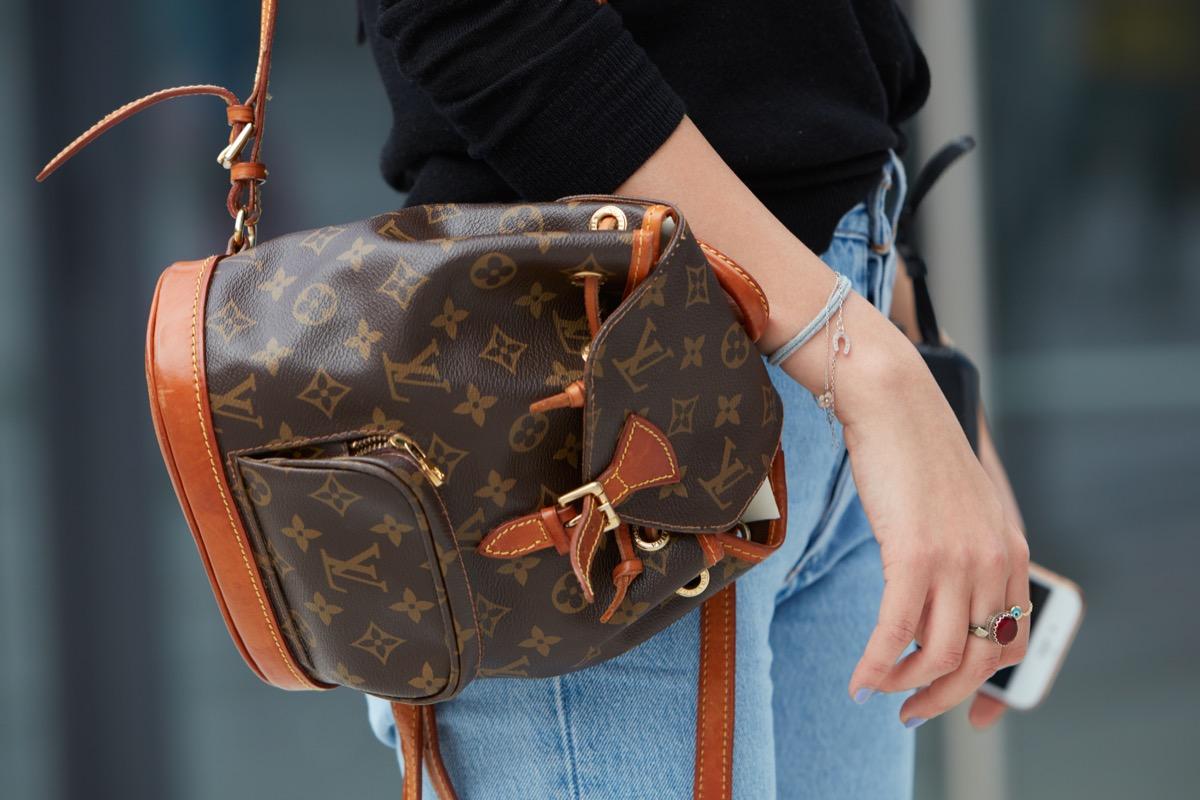 Woman with a Louis Vuitton Bag {Shopping Tips}