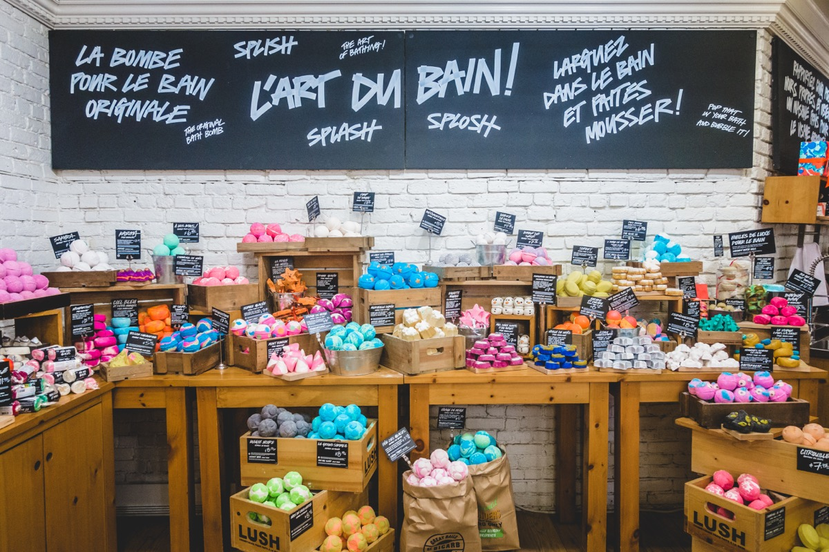Lush Store {Discounts For Old Items}