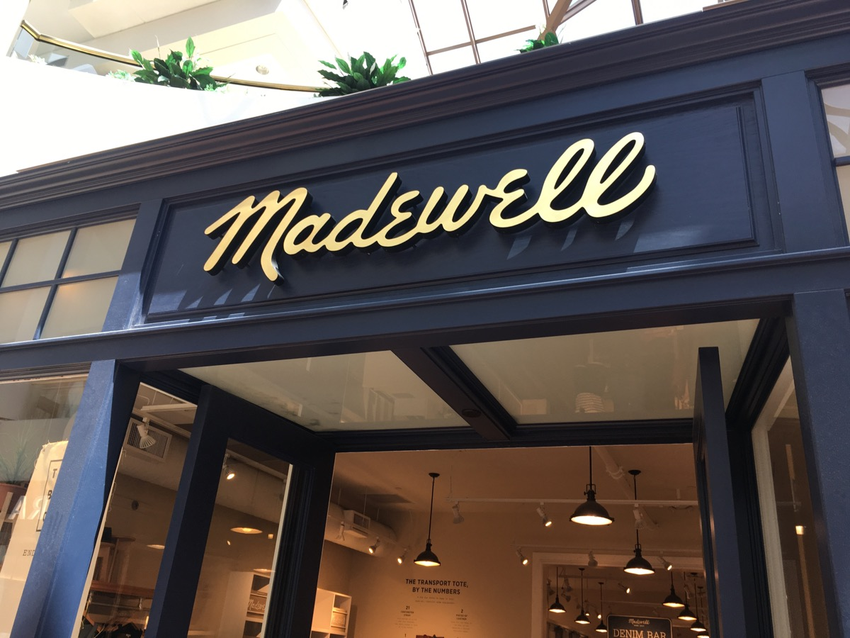 Madewell Store {Discounts For Old Items}