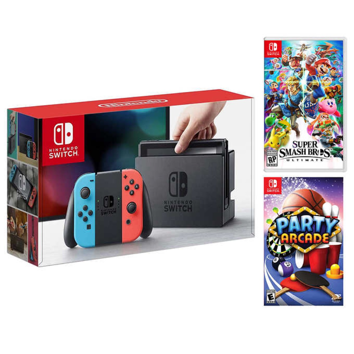 Nintendo Switch Console Pack {Costco Deals}