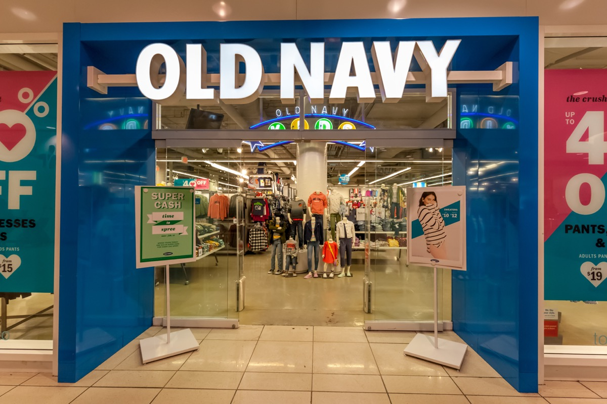Old Navy Storefront Retail Store Layouts Designed to Trick You
