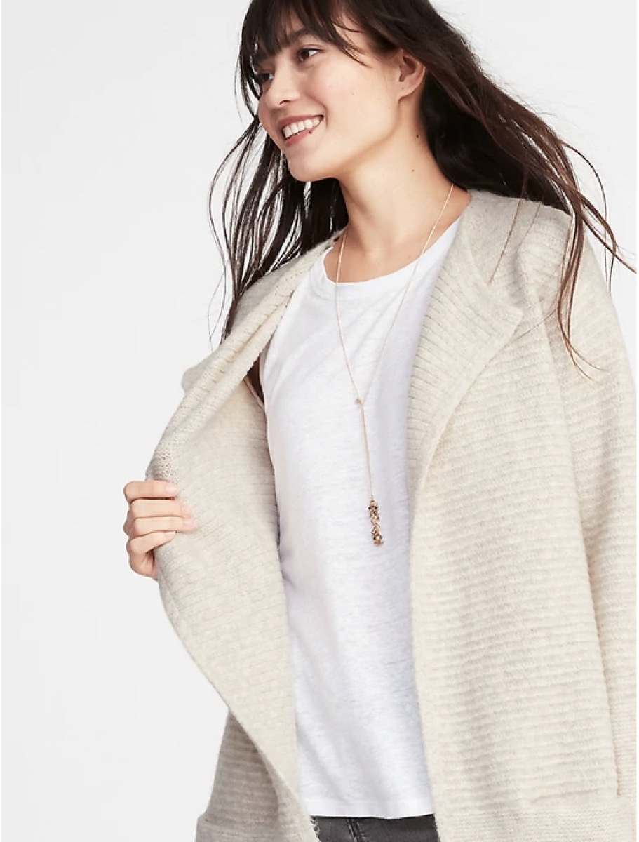 Old Navy Cardi-Coat buy after holidays
