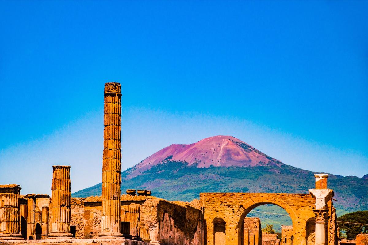 Pompeii Mount Vesuvius 2018 predictions