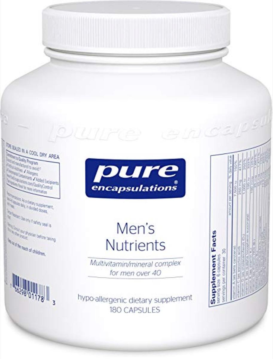 pure encapsulations, best multivitamin for men