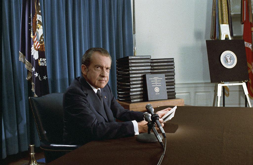 Richard Nixon hottest celebrity the year you were born