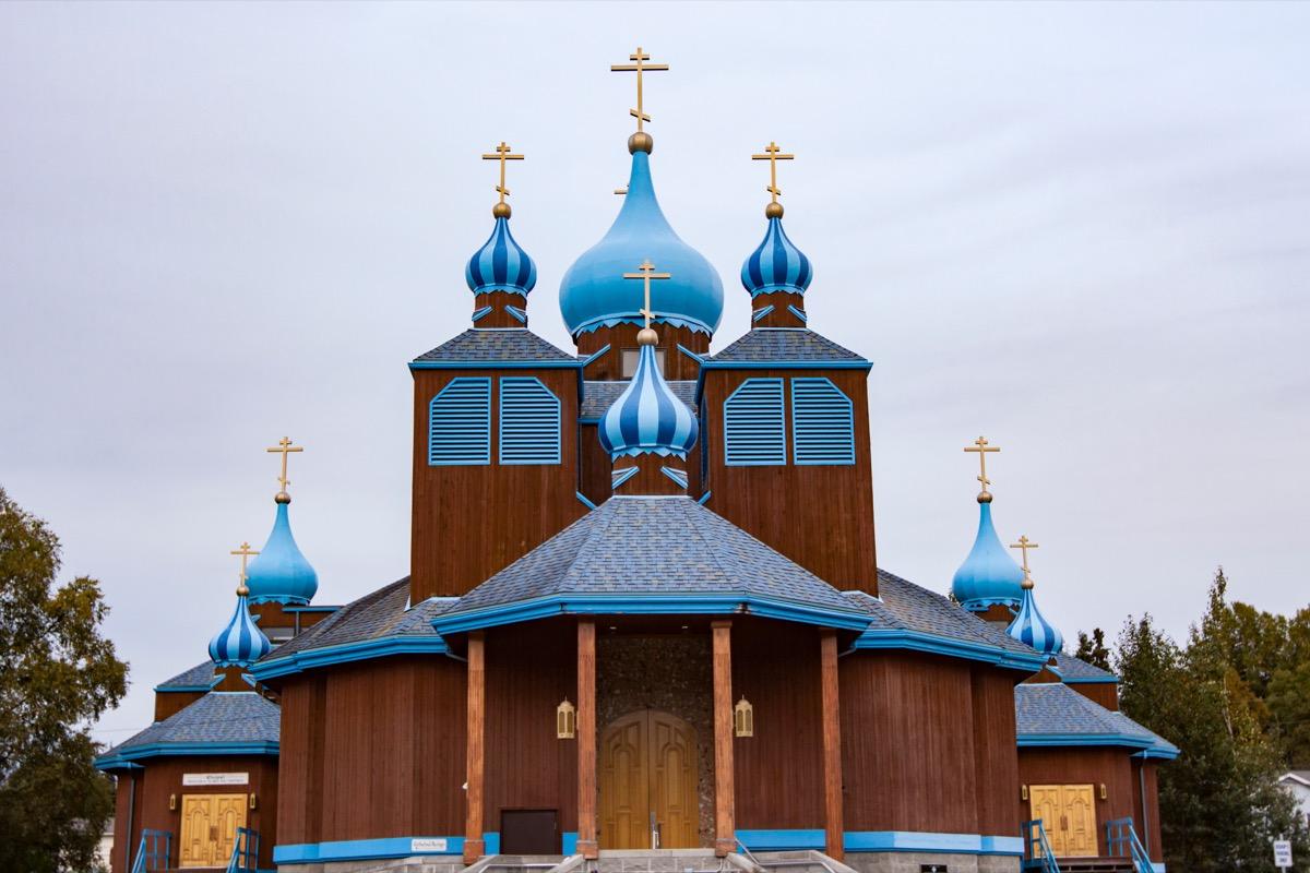 Russian Orthodox church in Anchorage Alaska