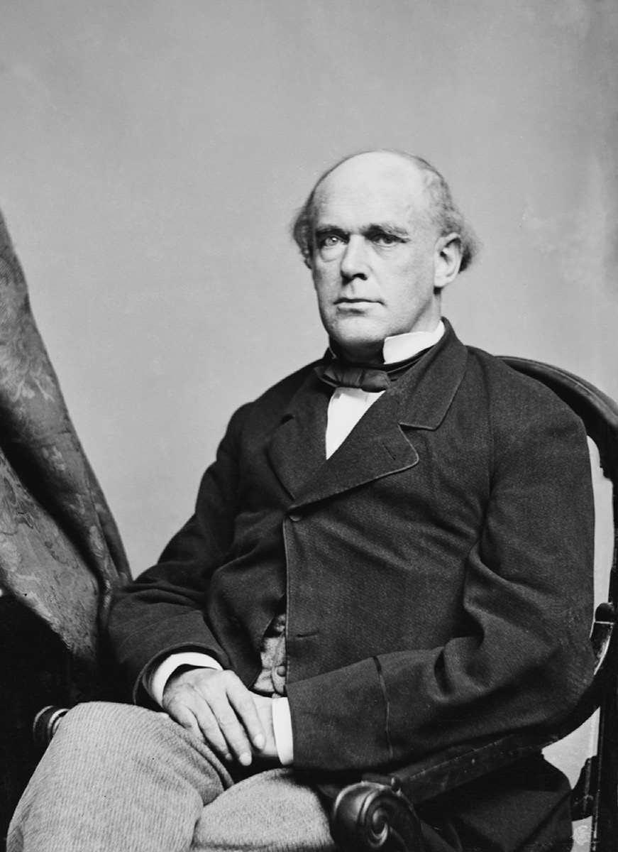 Salmon P. Chase historical facts