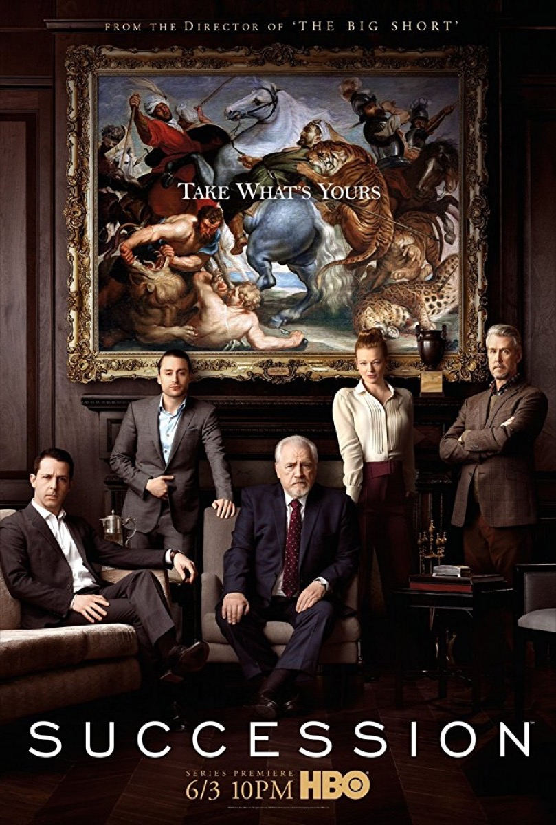 succession promotional poster