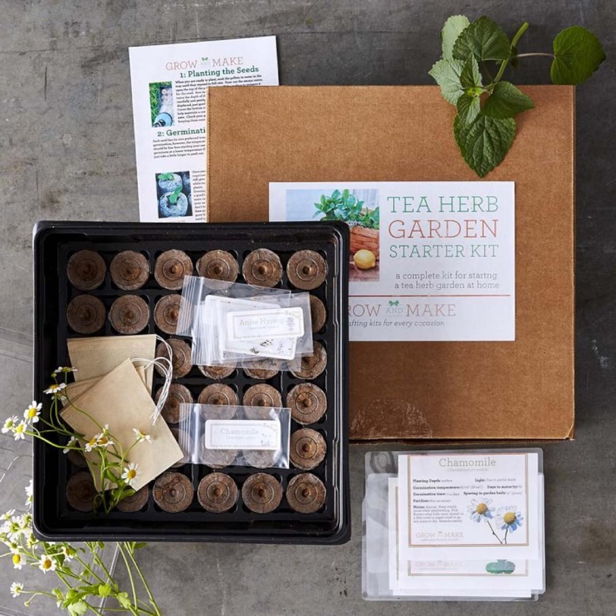 Tea Herbs Garden Kit {Christmas Gift Ideas}