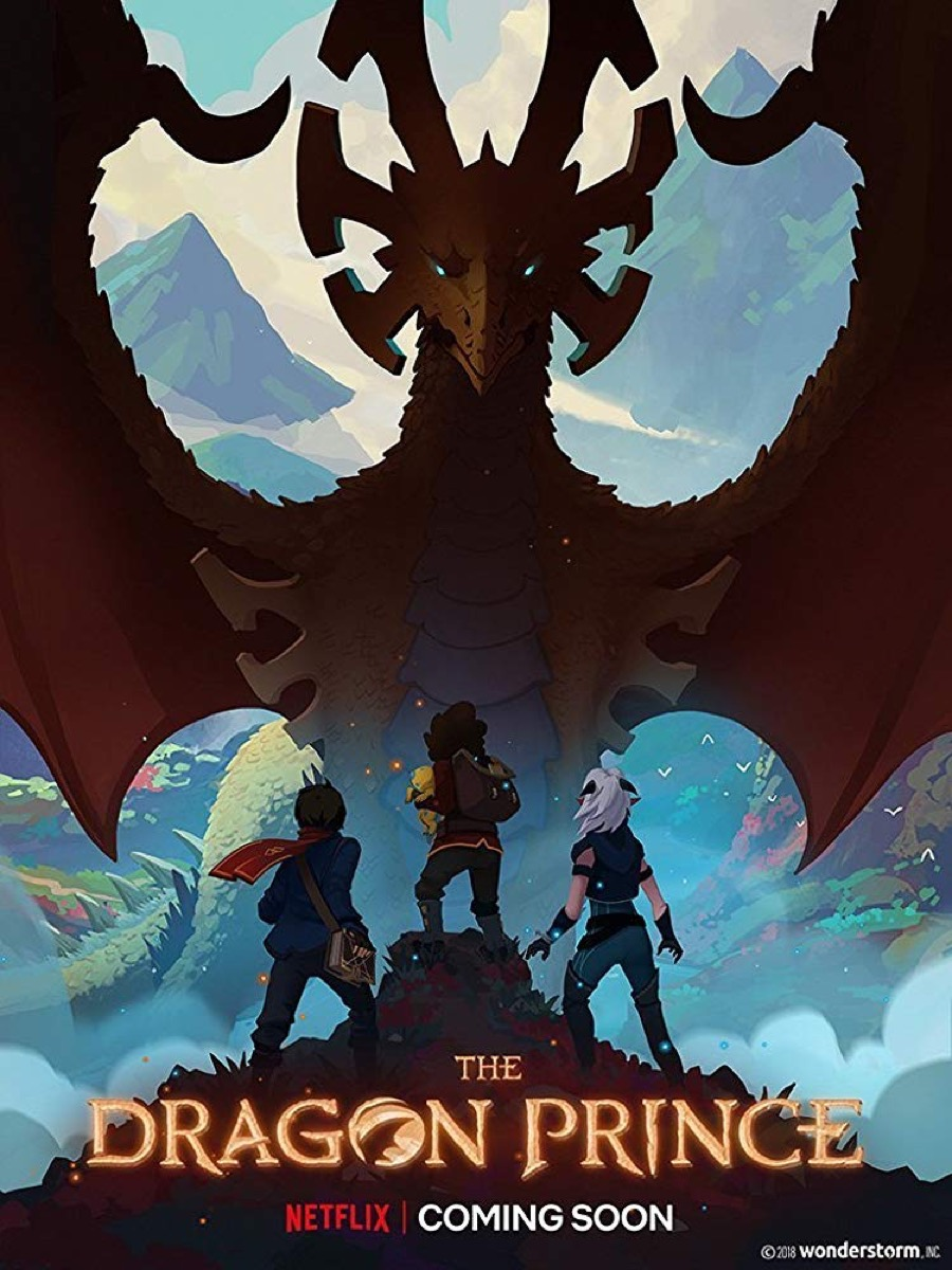 the dragon prince promotional poster