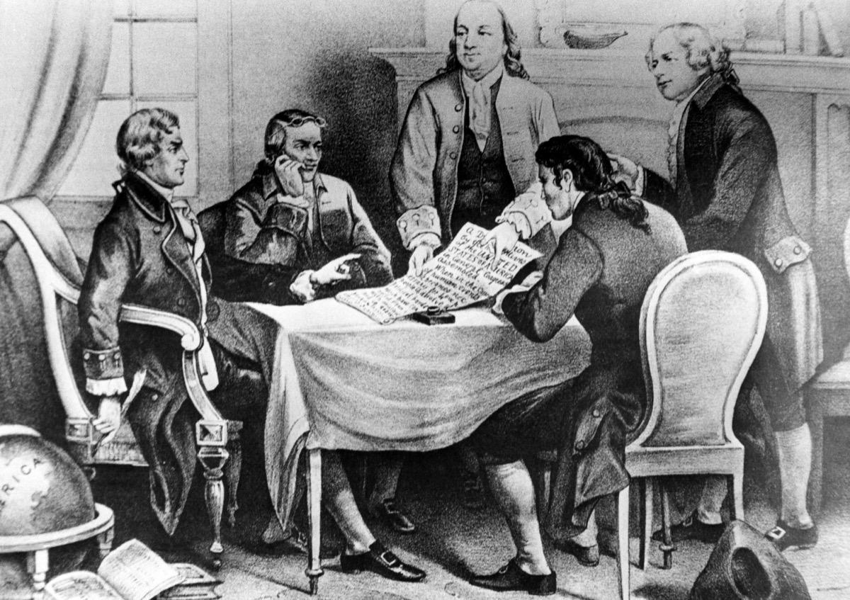 Thomas Jefferson and John Adams historical facts