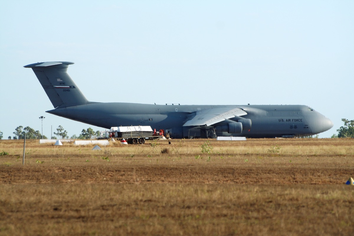 united states air force c5 plane