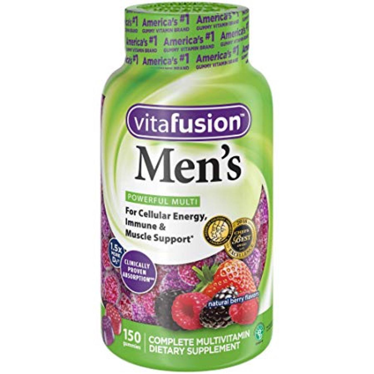 vitafusion, best multivitamin for men
