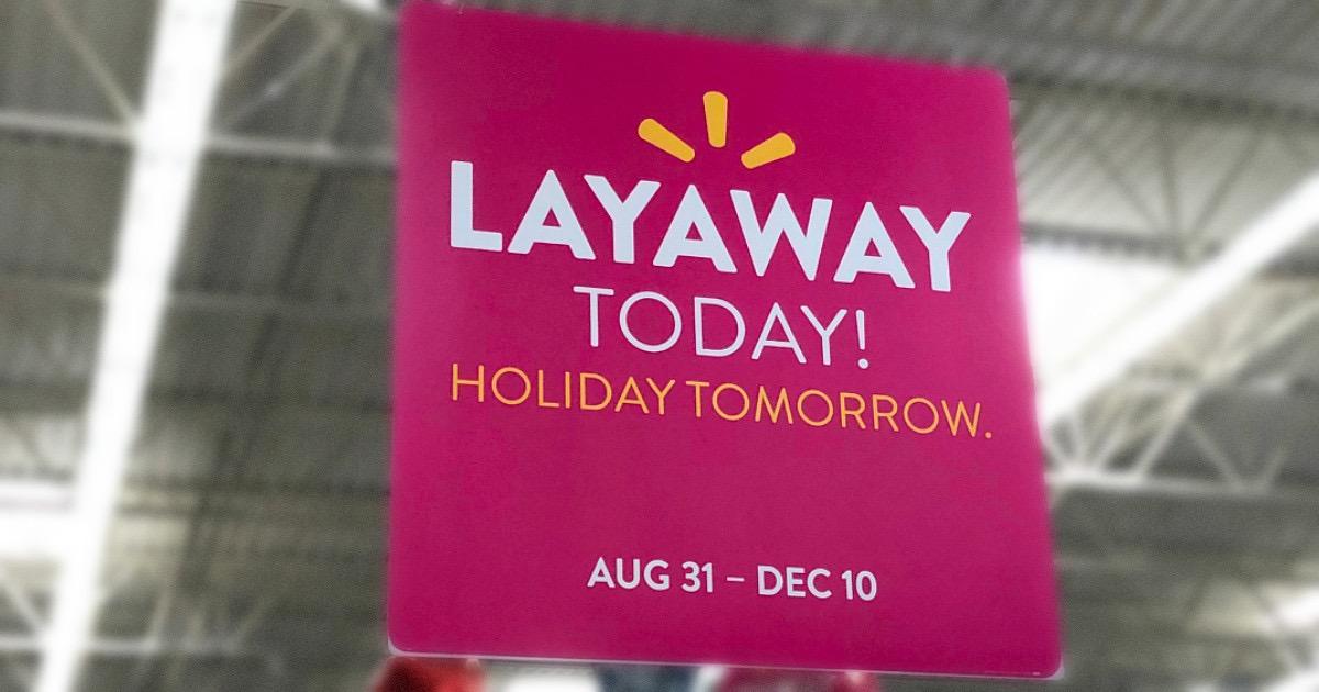 walmart layaways