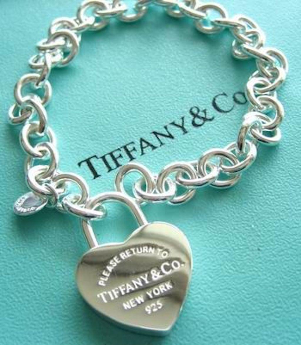 tiffany and co charm bracelet