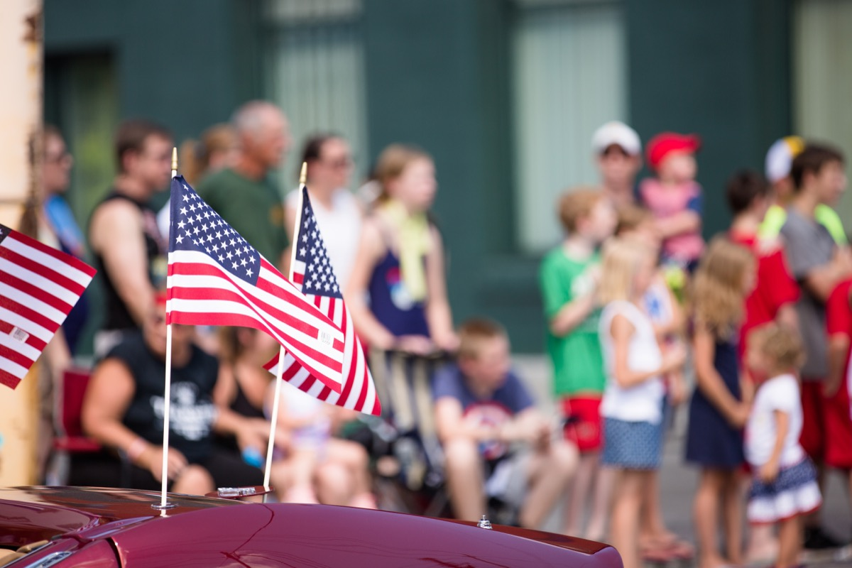 a fourth of july parade