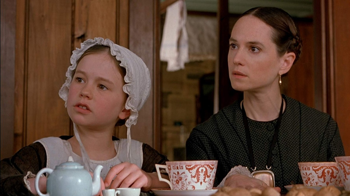 Holly Hunter and Anna Paquin in The Piano (1993)